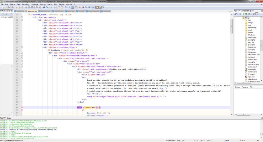 Tečaj HTML